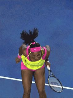 This is exactly what my heart is going to do when Queen Rena returns to the court....via giphy