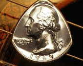 Washington Quarter Guitar Pick ...