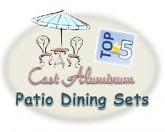 Aluminum Patio, Dining Sets, Patio Dining, It Cast, Christmas Ornaments, Holiday Decor, Top, Beautiful, Dinner Sets