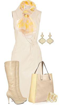 Dress4Sucess! Outfikombi in Elfenbein (Farbpassnummer 1) Kerstin Tomancok Farb-, Typ-, Stil & Imageberatung