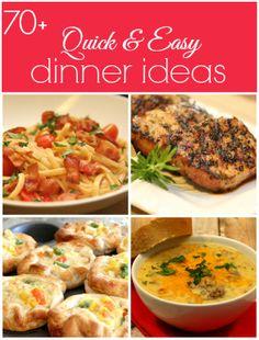 70+ Quick Dinner Ideas | It's a Keeper