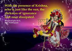 Srila Prabhupada on Effect of Presence of Krishna   Bhagwad Gita