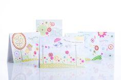 Geburtstagskarten mit Blumenaudruck / Birthday cards with a floral print   chic.mic   Paperworld 2016   TOP FAIR Blog