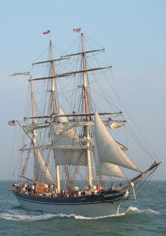 Official Tall Ship of Texas - ELISSA    Located in Galveston, Texas
