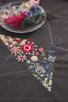 Embroidered star / Cazadora de inspiracin  Anna Tykhonova