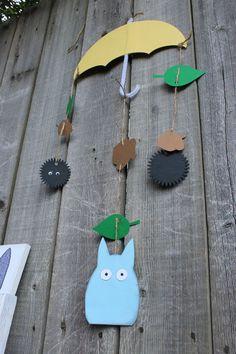 Totoro hanging