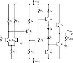 BJT Operational Amplifier #ECE