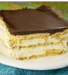 No-Bake Chocolate Eclair Dessert | Want-to-Share.com