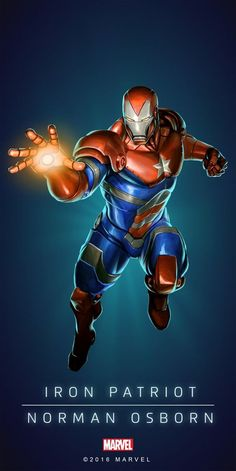 "Marvel Comics: Iron Patriot ""Norman Osborn"""