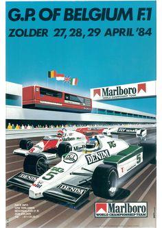 GP F1 1984 orig ZOLDER