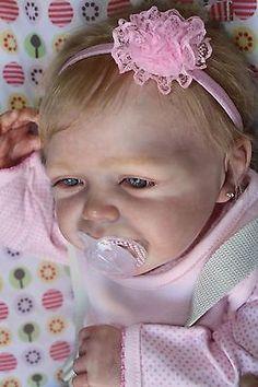 Reborn baby girl Jola~Limited Edition 97/500~Romie Strydom Sculpt