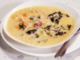 Cooking Channel serves up this Sausage, Pumpkin and Arborio Soup recipe from Rachael Ray plus many other recipes at CookingChannelTV.com