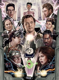 Ghostbusters by Sam Gilbey