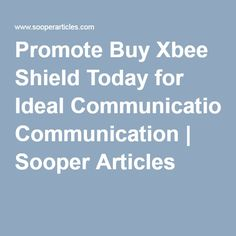 #XbeeShield one of the most popular shields particularly for communication purposes offering reliable, cost effective and easiest way to use module.