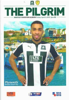 Plymouth Arg 1 Burton Alb In April 2015 At Home Park The