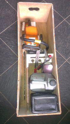 box for my chain saw. : somethingimade