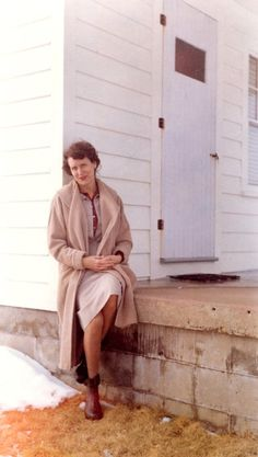 Sylvia Plath Photos - Aurelia Plath, January 1961 (Courtesy Mortimer Rare Book Room, Smith College)