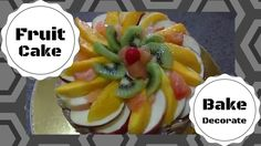 How to Bake and Decorate Fruitcake