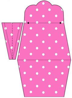 151 pieces- Lg Party Printable Set---AQUARELINHA: Kit Poá rosa e branco