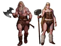 Characters from different cultures that I've doing for a roleplaying game developed by Ninth Dimension Books I have added some images of the process below Fantasy Heroes, Fantasy Warrior, Fantasy Rpg, Medieval Fantasy, Dnd Characters, Fantasy Characters, Female Characters, Vikings, Fantasy Character Design