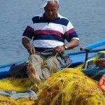 Vissen op Kreta Griekenland