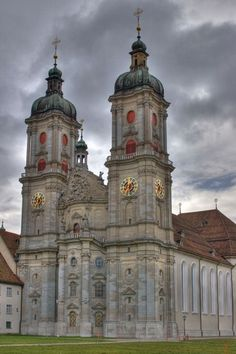 The Convent of St. GAll Switzerland