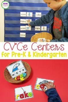 If you are looking for hands-on and engaging CVCe centers for your classroom - these are for you! Designed with early readers in mind, these CVCe words activities will give you a variety of differentiated centers and options for your students.This pack is filled with engaging CVCe words centers that are NOT themed and can be used ANY TIME of year! (see the preview and description below for full details). Kindergarten Literacy, Literacy Activities, Literacy Centers, Cvce Words, Reading Centers, Early Readers, Reading Strategies, Read Aloud, Students