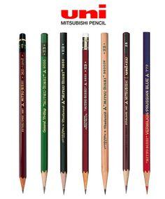 Mitsubushi-Pencil-Product-Range Pastel Pencils, Watercolor Pencils, Colored Pencils, 2 Pencil, Pencil Drawings, Derwent Pencils, Wooden Pencils, Artist Pencils