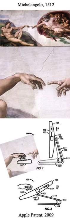 Does Apple copy from Michelangelo?