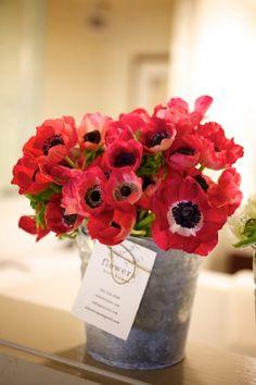 Macul la putere! Nuntă cu maci și anemone roșii | http://nuntaingradina.ro/macul-la-putere-nunta-cu-maci-si-anemone-rosii/