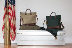 Your Materials || Your Story We want to provide the opportunity for you to share yourservice member's legacy and honor by having a custom heirloom handbag mad