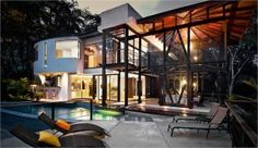 Costa Rica Estate, Luxurious Villa surrounded by lush tropical jungle, Manuel Antonio Private Home with Pool - Costa Rica luxurious houses for rent, rental homes, Casa Romantica Manuel Antonio