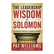 In this book pro sports exec Pat Williams applies Solomon's ancient insights to today's leadership world. The book is filled with true stories from business, politics, pro sports, history, the church, and the military. Love it!
