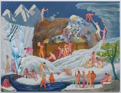 Party by nicole eisenman, winner of MacArthur genius grant 2015. A work you can spend ages looking at