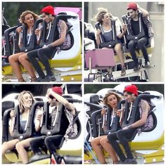 And here ladies and gentlemen, is Zayn and Perrie enjoying the rollercoaster that is life.