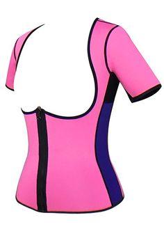 c0d8017140 Pink Stretch Neoprene Fabric Body Shaper Work Out Waist Trainer Waist  Cincher Corset