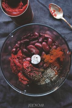 Crunchy red bean paste - Do it Yourself & More! Gluten Free Recipes, Vegetarian Recipes, Healthy Recipes, Healthy Food, Smoothies Vegan, Bean Paste, Hummus Recipe, Food Test, Red Beans
