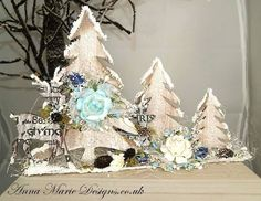 , Christmas Decorations For The Home, Christmas Centerpieces, All Things Christmas, Christmas Holidays, Christmas Crafts, Christmas Ideas, 3d Paper Crafts, Xmas Ornaments, Crafty Projects