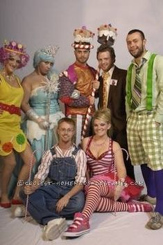 Coolest Homemade Candy Land Group Halloween Costume... This website is the Pinterest of costumes