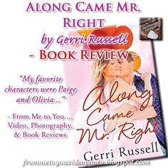 Along Came Mr. Right by Gerri Russell [ #BOOKREVIEW ] -- I struggled from the very beginning -- 2 out of 5 stars and A #TEASER :: http://frommetoyouvideophoto.blogspot.com/2016/04/disappointmentville-along-came-mr-right.html  #meme #bookteaser #bookblogger #bookblog #booklover #bookworm #booklife #booklove #books #contemporary #contemporaryromance #romance #romancenovels #fosterchildren #fosteragency #mathematician #AlongCameMrRight #GerriRussell #MontlakeRomance