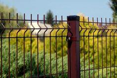 Panele ogrodzeniowe 3D w kolorze BRĄZOWYM - Standardowa wysokość - 1,03 , 1,23 , 1,53 , 1,73 , 2,03 m , http://ogrodzenia24.eu/panele-brazowe-c-3_37_66.html