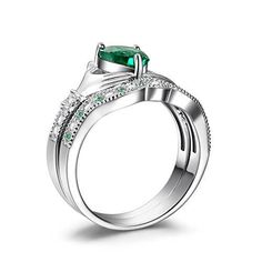 This Claddagh Ring Bridal Set Is A Traditional Irish Ring Which Represents  Love, Loyalty,