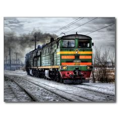 Diesel Locomotive Gifts for Train Lovers Postcard SOLD on Zazzle