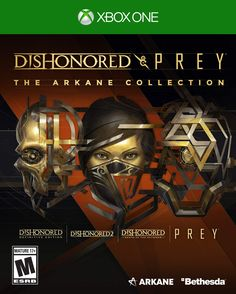 Dishonored and Prey: The Arkane Collection Arkane Studios, Ps4, Playstation, Game Release Dates, Cartoon Crossovers, Xbox Live, Greatest Hits, Frugal, How To Find Out
