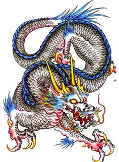 DragonTattoo Flash Designs. Top quality high resolution color design, with tattoo stencil outline for instant download. Get the body art you deserve. Many other designs. View at http://mickeymud.com/galleries/