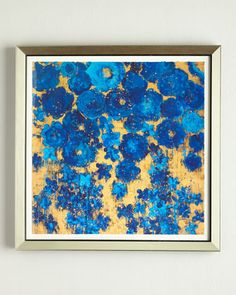 """Floral+#8""+Abstract+Giclee+by+RFA+Fine+Art+at+Neiman+Marcus."