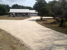 Tar and chip road leading to this beautiful country road in the Hill Country | RS Asphalt Paving Company