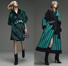 Fendi 2015 Pre Fall Autumn Womens Lookbook Presentation - Denim Jeans Mink Furry Eyes Coat Moto Biker Shearling Piano Keys Stripes Poncho Fringes Bejeweled Pop Art Outerwear Jacket Handbag Clutch Sweater Jumper Boots Motorcycle Rider Leather Racer Metallic Studs Handkerchief Hem Knit Miniskirt Pants Trousers Sneakers Dress Reptile Snake Python Flowers Florals Print Shawl Skirt Frock 3D Embellishments Vest