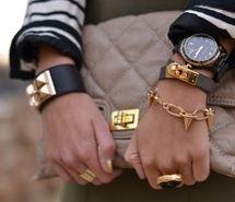 bag, bracelets, fashion, girl, style