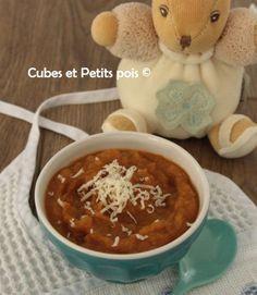 Recette de soupe pour bébé avec du céléri rave (Dès 7 mois) - Cubes & Petits pois